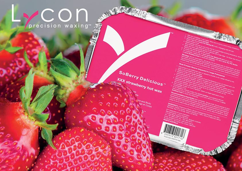 lycon strawberry hot wax