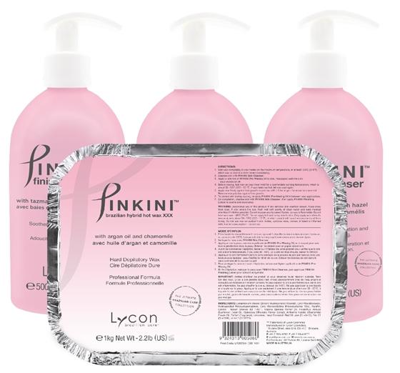 pinkini brazilian wax