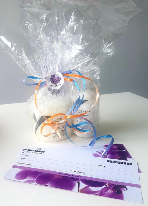 Cadeaubonnen - Verras je vriend(in) met een uniek cadeau! | SILKY SMOOTH