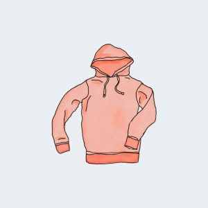 Hoodie with Zipper - SILKY SMOOTH