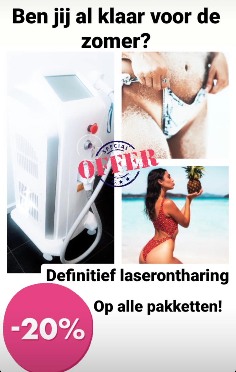 Definitief laserontharing – SILKY SMOOTH