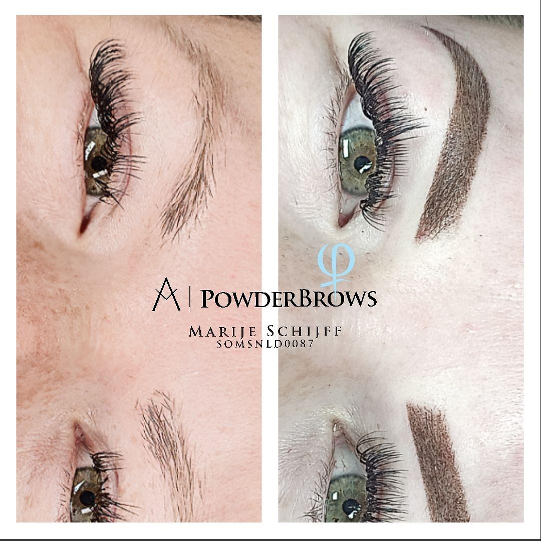 Powderbrows permanente make up